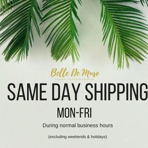 📬Same day shipping
